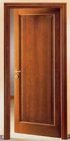 Falegnameria caccia carrara porte da interno - Porte noce chiaro ...