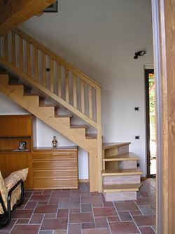 Falegnameria caccia carrara scale - Scale rivestite in legno per interni ...